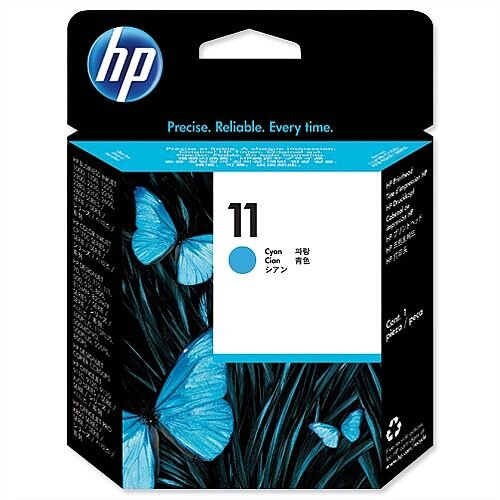 HP 11 Cyan Inkjet Printhead Cartridge C4811AE