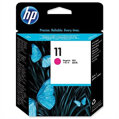 HP 11 Magenta Printhead Cartridge Long-life Inkjet C4812AE