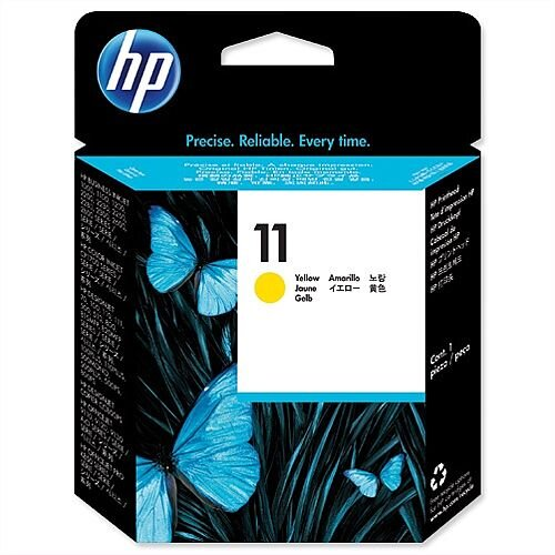 HP 11 Yellow Printhead Inkjet Cartridge Long-life C4813AE