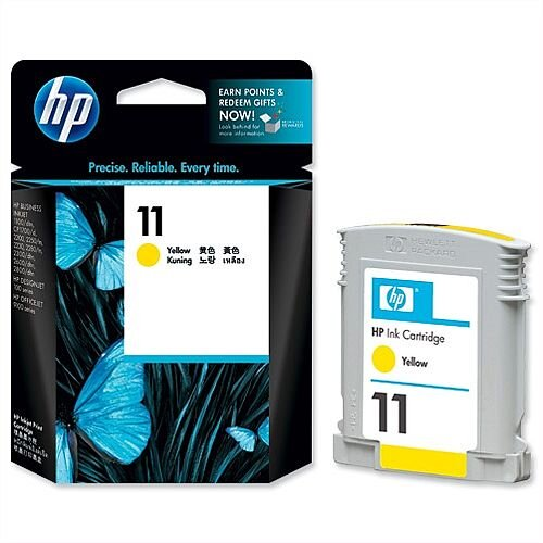 HP 11 Yellow Inkjet Cartridge C4838A