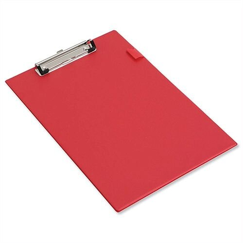 Red Standard Clipboard Foolscap