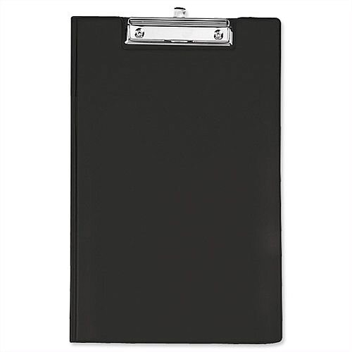Rapesco Foolscap Clipboard Fold Over Black
