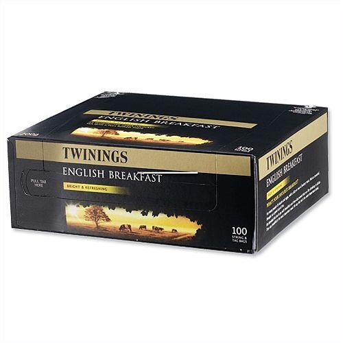 Twinings Traditional English Tea Bags Pack 100