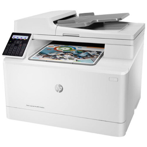 HP Color LaserJet Pro MFP M183fw Multifunction printer - Colour - A4 Size 216 x 297 mm - 16ppm - 150 sheets - 33.6 Kbps - USB 2.0, LAN, Wi-Fi(n)