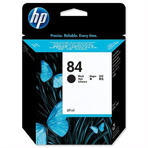 HP 84 Black Inkjet Cartridge C5016A
