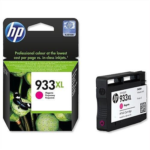 HP 933XL Magenta Inkjet Cartridge High Capacity CN055AE 557978