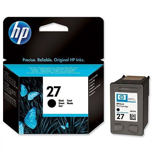 HP 27 Black Inkjet Cartridge C8727AE