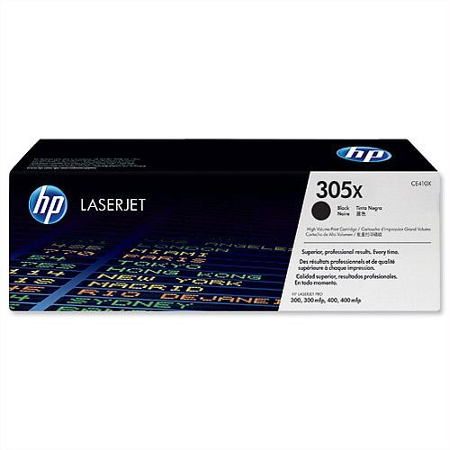 HP 305X Black Original LaserJet Toner High Yield CE410X