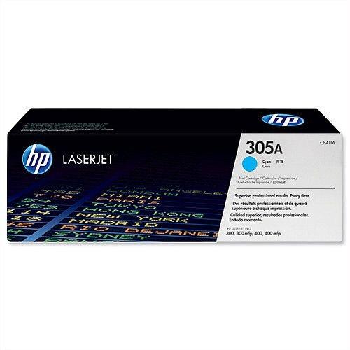 HP 305A Cyan LaserJet Toner Cartridge CE411A