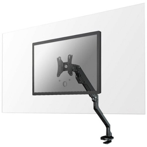 """Newstar Safety Screen - Acrylic, Transparent with Desk Mount for Monitor up to 32"""" - 100x100mm VESA Mount - Mounting Component"""