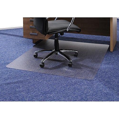 Chair Mat Rectangular for Carpet Protection 1200x1340mm Cleartex Ultimat