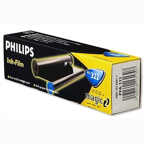 Philips PFA322 Fax Ribbon Black for PPF441 456 476 486