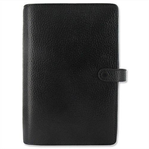 Filofax Finsbury Personal Organiser for Paper 95x171mm Personal Black Ref 025302