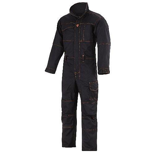 Snickers 6057 Flame Retardant Welding Overall Regular Black