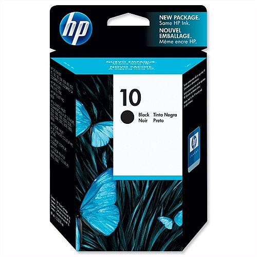 HP 10 Black Inkjet Cartridge 69ml C4844AE