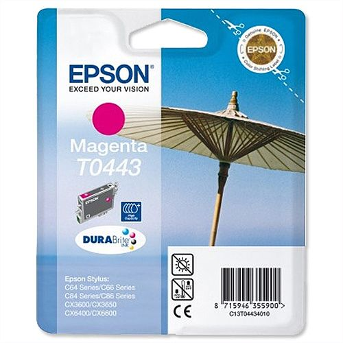 Epson T0443 Magenta Ink Cartridge