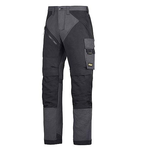 "6202 RuffWork, Work Trousers+ Holster Pockets Steel grey\Black - 5804 Size 70 60""/32"""