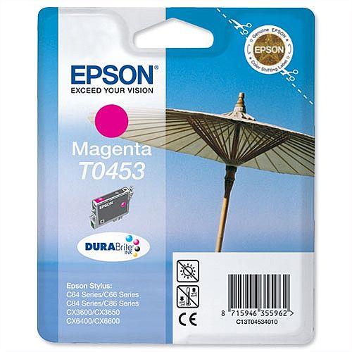 Epson T0453 Magenta Ink Cartridge