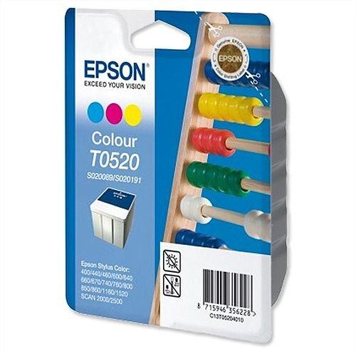 Epson T0520 Colour Ink Cartridge 640