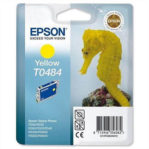 Epson Seahorse T0484 Yellow Ink Cartridge