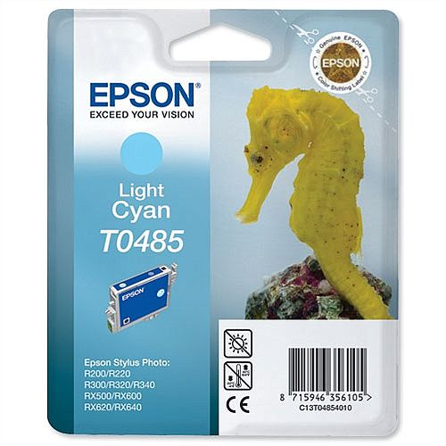 Epson Seahorse T0485 Light Cyan Ink Cartridge