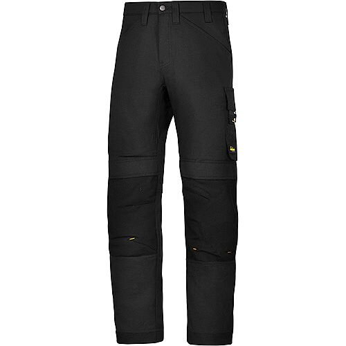 "Snickers 6301 AllroundWork Trousers Black W36"" L35"" Size 152 WW1"