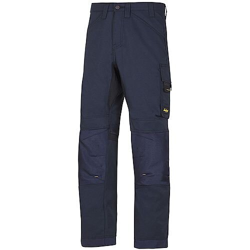 "Snickers 6301 AllroundWork Trousers Navy W36"" L35"" Size 152 WW1"