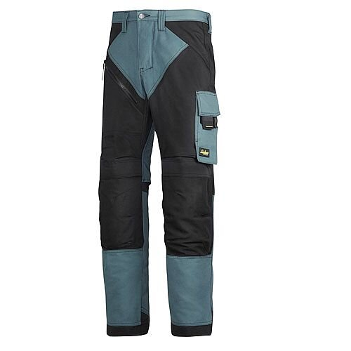 "6303 RuffWork, Work Trousers Petrol/Black 5104 Size 152 36""/35"""