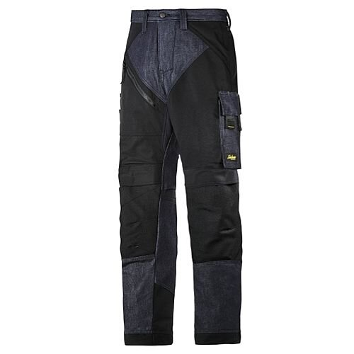 "6305 RuffWork Denim, Work Trousers Denim\Black - 6504 Size 152 36""/35"""