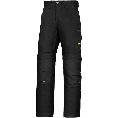 "Snickers 6307 LiteWork 37.5 Trousers Black W36"" L35"" Size 152 WW1"