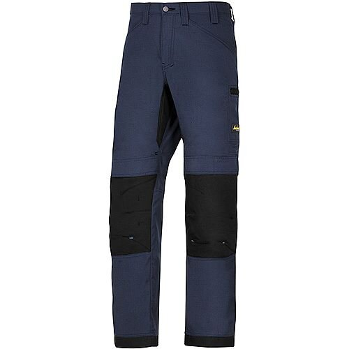 """Snickers 6307 LiteWork 37.5 Trousers Navy - Black W35"""" L35"""" Size 150 WW1"""