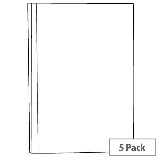 White Box Manuscript Book A5 [Pack 5]