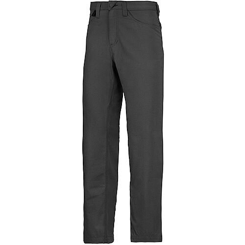 "Snickers 6400 Service Trousers Chinos Black Waist 36"" Inside leg 35"" Size 152"