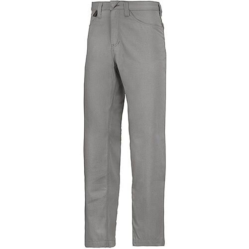 """Snickers 6400 Service Trousers Chinos Grey Waist 36"""" Inside leg 30"""" Size 104"""