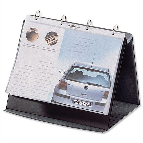 Durable Durastar Presentation Portfolio A3 Graphite