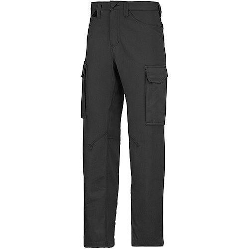 "Snickers 6800  Service Trousers Black Waist 39"" Inside leg 35"" Size 156"