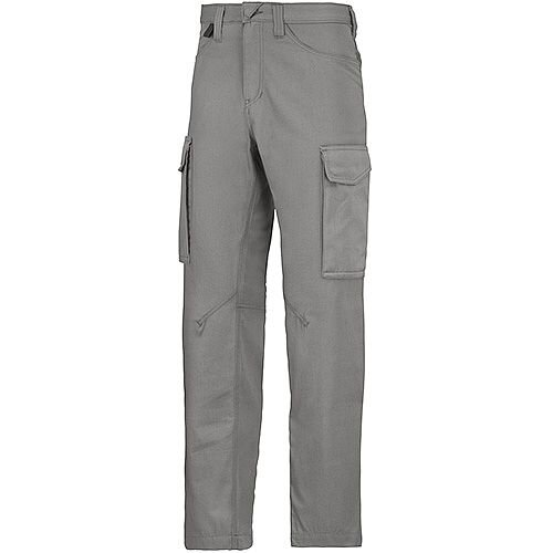 "Snickers 6800 Service Trousers Grey Waist 36"" Inside leg 35"" Size 152"
