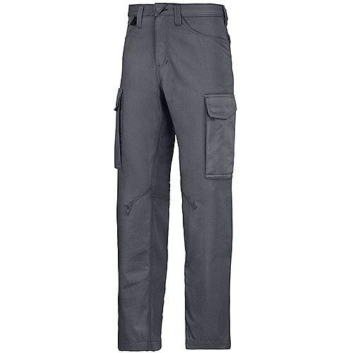 """Snickers 6800 Service Trousers  Steel Grey Waist 41"""" Inside leg 37"""" Size 258"""