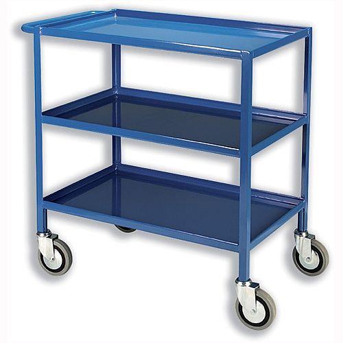 Tray Trolley 3 Tier Blue TT03