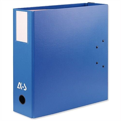 Arianex Blue Double A4 Lever Arch File