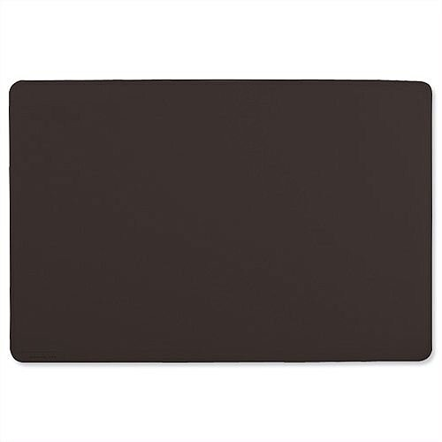 Durable Black Desk Mat 400x530mm Black 7102/01