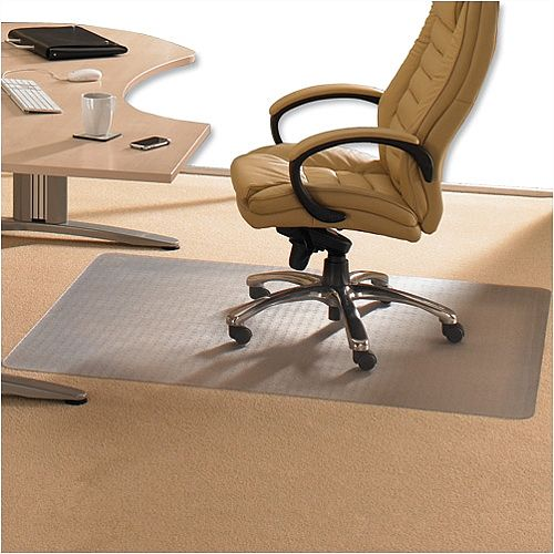 Cleartex Advantagemat Chair Mat PVC for Low Pile 2.5mm Carpet Rectangular 1210x1520mm 1115225EV