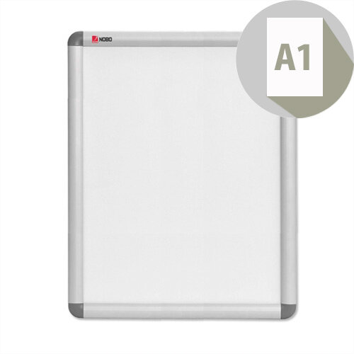 Nobo A1 Clip-down Frame Moulded Aluminium Front-opening 840x594mm