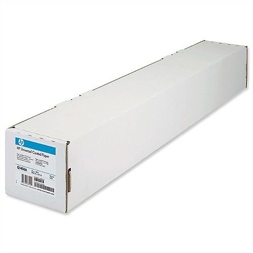 HP Q1406A Universal Coated Plotter Paper 1067mm x 45.7m 95gsm