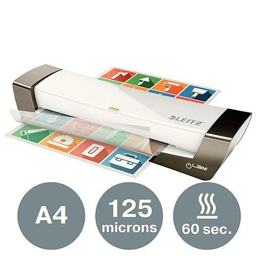 Leitz iLam Office A4 Laminator Silver &White 72511084