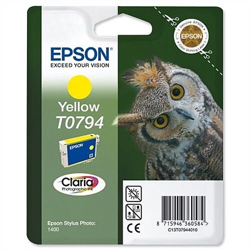 Epson Owl T0794 Yellow Ink Cartridge