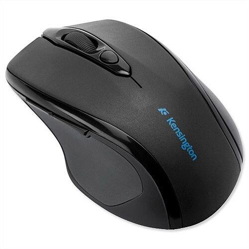 Kensington Optical Wireless Mid-Size Mouse Black Silver K72354EU