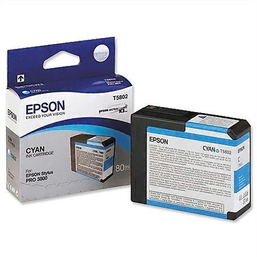 Epson T5802 Cyan Ink Cartridge C13T580200