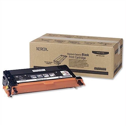 Xerox 113R00722 Black Toner For Phaser 6180