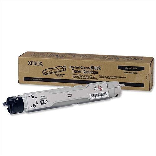 Xerox 106R01217 Black Toner for Phaser 6360 Series
